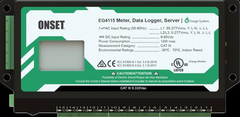 EG4115 'Core' Messzähler/Datenlogger mit 15 Eingängen