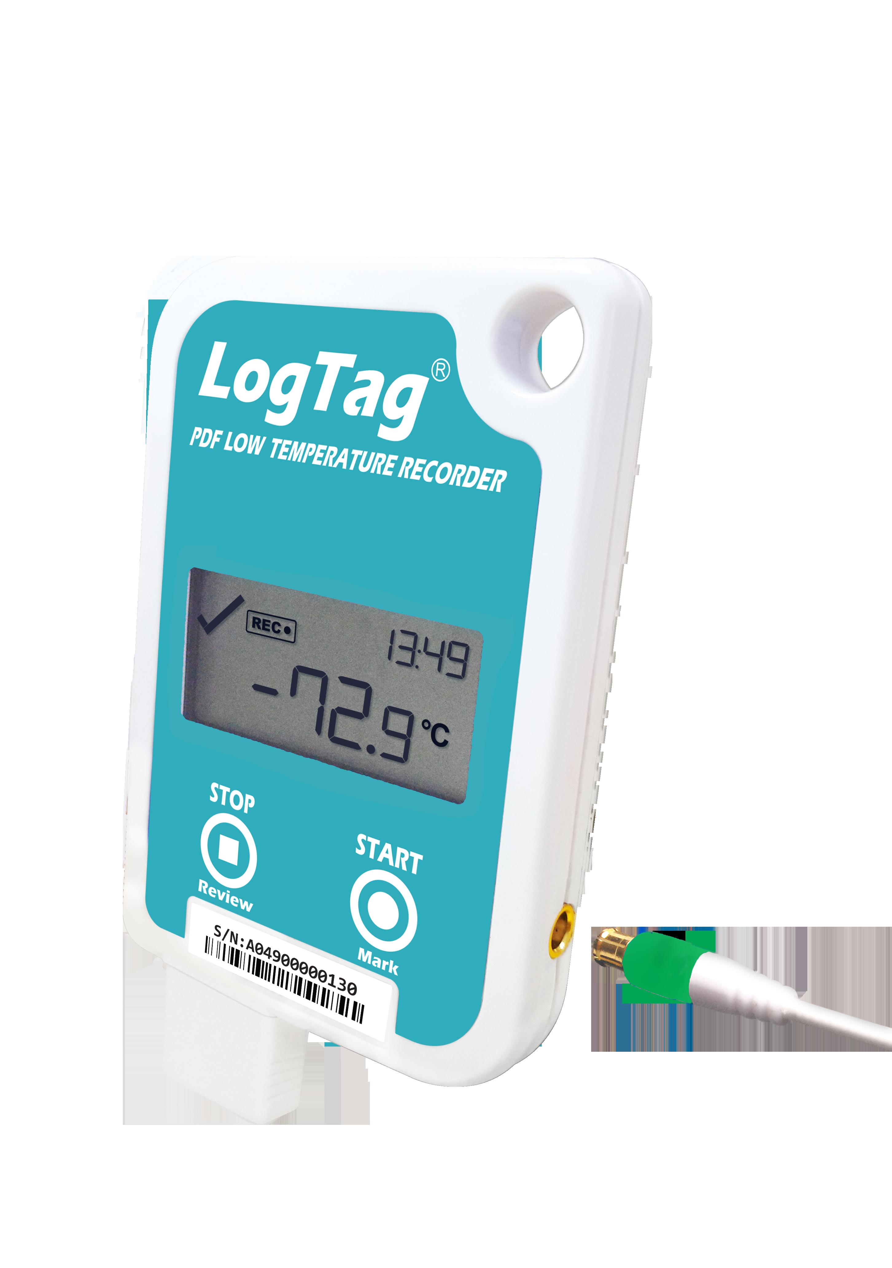 LogTag® UTREL-16F Ultra-Tieftemperatur-Datenlogger mit PDF Report & Display