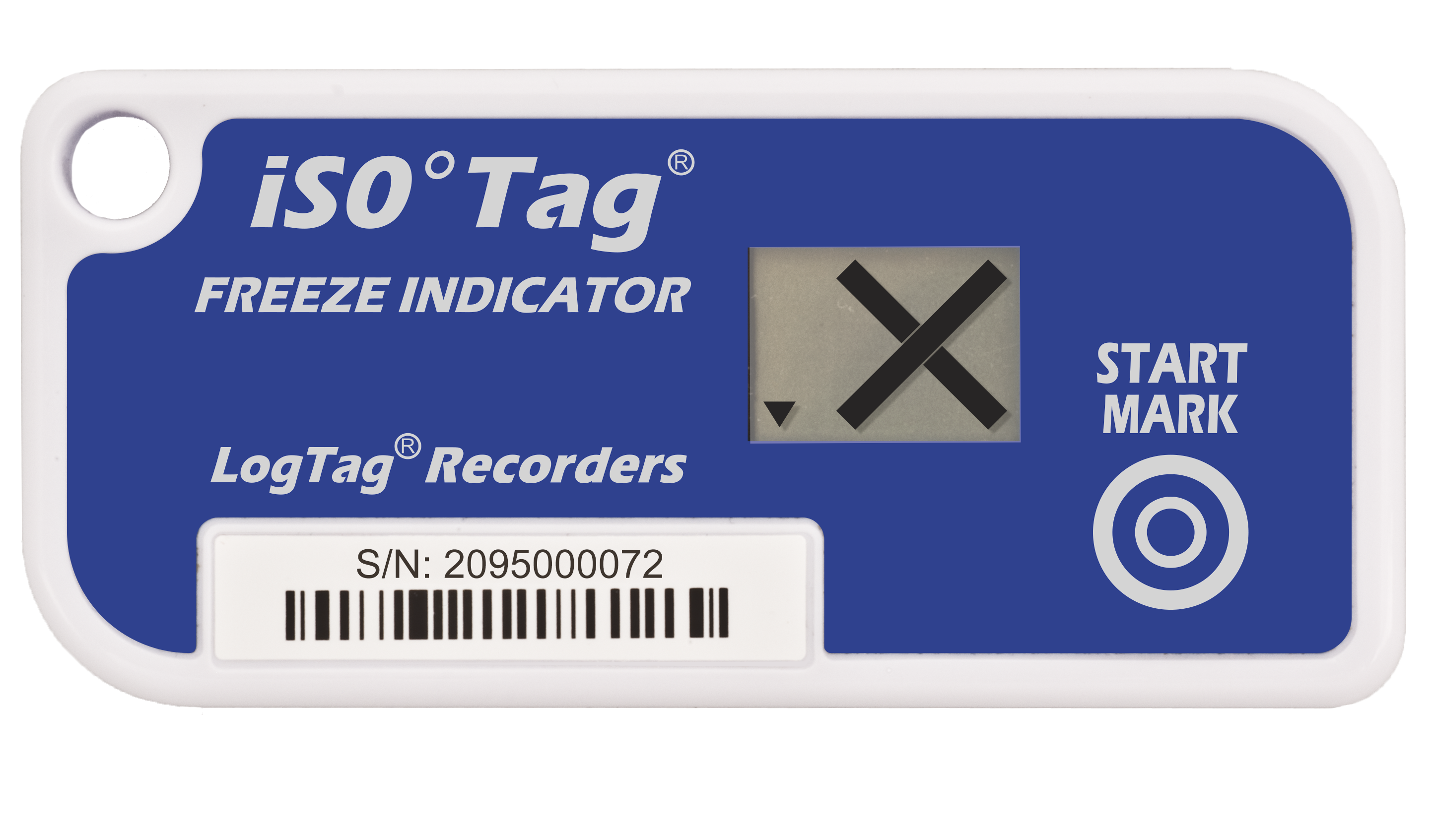 Gefrier-Indikator LogTag® TICT iS0°Tag