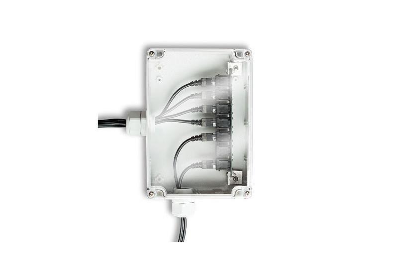 Anschlussbox für 6 Smart Sensoren