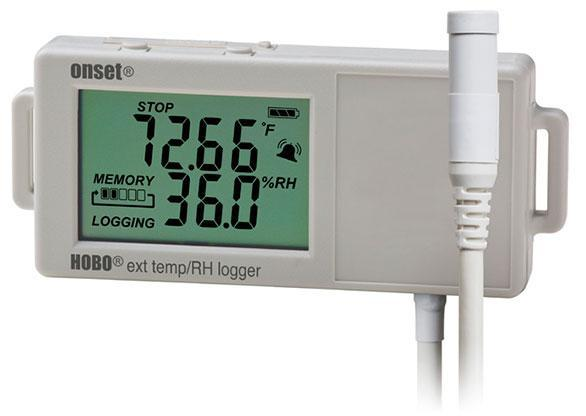 HOBO UX100-023 Temperatur / relative Feuchte-Datenlogger