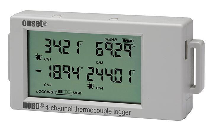 HOBO UX120-014M 4-Kanal Thermoelemente-Datenlogger