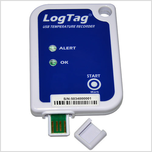 LogTag® USRIC-4 Einweg-Temperatur-Datenlogger mit integrierter USB-Schnittstelle