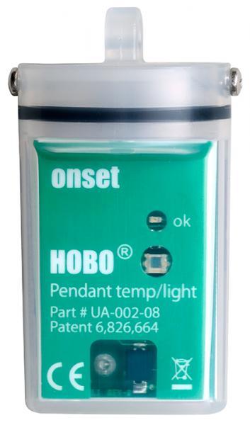 HOBOPendant® UA-002 Temperatur/Licht-Datenlogger