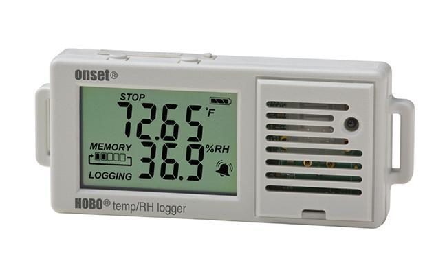 HOBO UX100-003 Temperatur / relative Feuchte 3,5%-Datenlogger