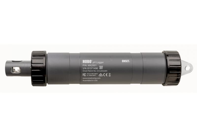 HOBO MX2501 Datenlogger für ph-Werte und Wassertemperatur