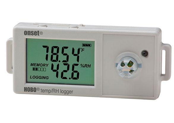 HOBO UX100-011A Temperatur / relative Feuchte 2,5 %-Datenlogger