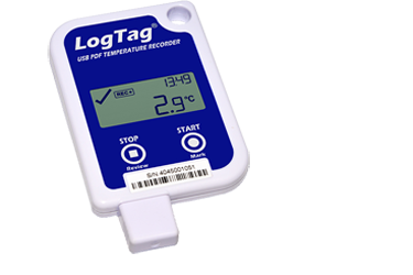 LogTag® UTRID-16 Temperatur-Datenlogger mit PDF-Report & Display