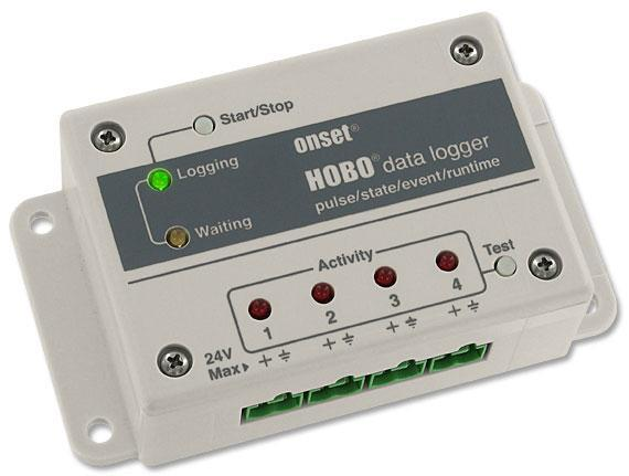 HOBO UX120-017 und UX120-017M - 4-Kanal Impuls-Datenlogger